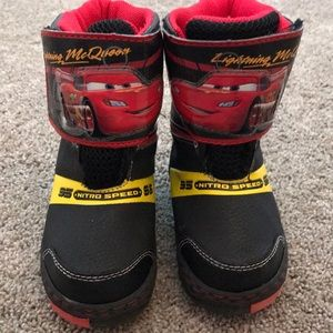 Cars Lightning McQueen Snow Boots - Toddler 8 (US)